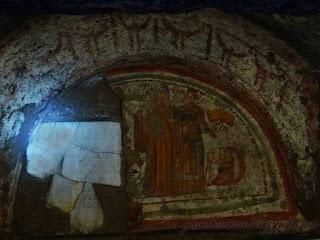 iconografia catacumba guia roma portugues 2 - Passeios aos Subterrâneos