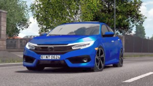 Honda Civic FC5 2017 & Accord Executive 2009