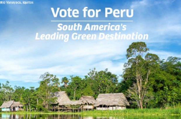 Vota por Perú como el mejor Destino Verde de Sudamérica en los Óscar del Turismo 2021