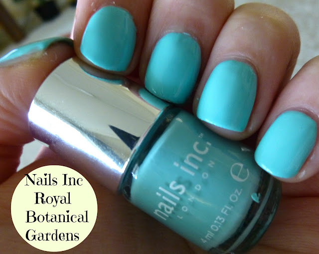 Nails Inc Royal Botanical Gardens Nail Polish Swatch