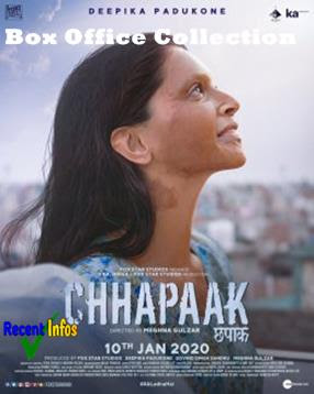 Chhapaak Bollywood Movie Box Office Collection -
