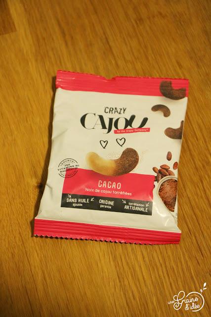 Chocolat chaud Nocciolata et Noix de Cajou au Cacao Recette facile rapide pas chère gourmande Degustabox