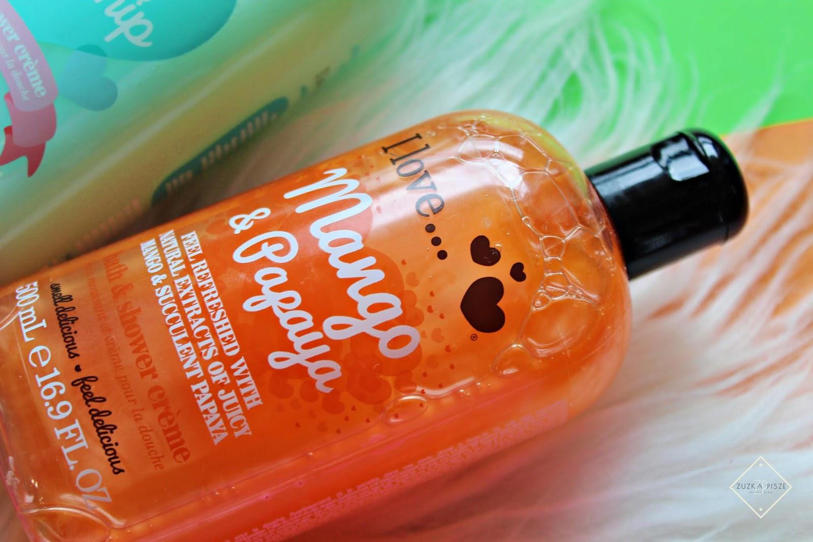 I Love... Mango&Papaya krem pod prysznic i do kąpieli