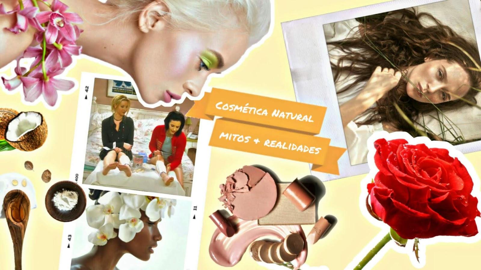 Mitos y realidades acerca de la cosmética natural