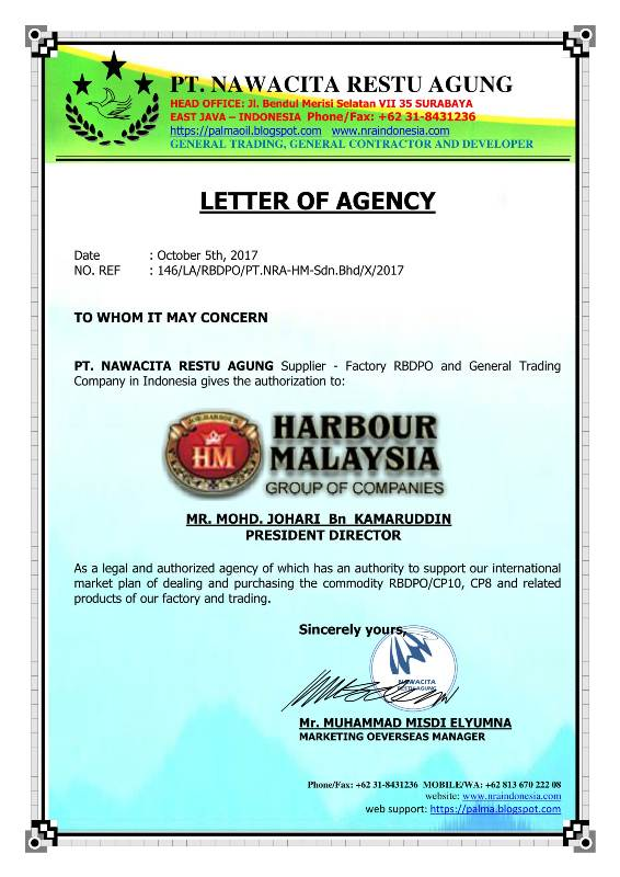 pembelian penjualan import eksport ternakan hidup lembu kambing harbour malaysia group HMG