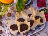 Muffins de Calabaza Pera y Chocolate