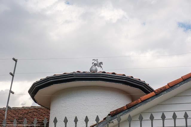 Casa na Rua José de Alencar Detalhe elemento decorativo