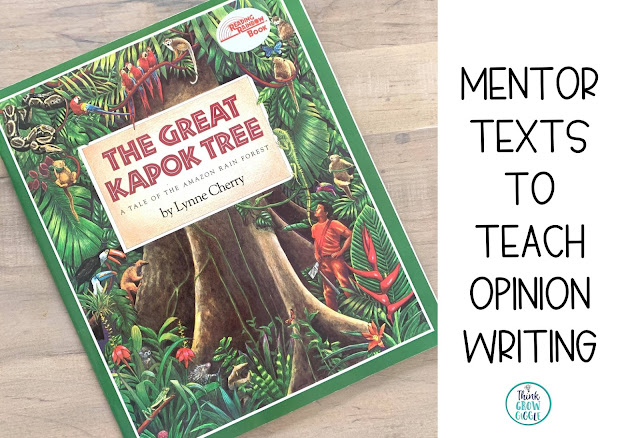persuasive writing read aloud picture books