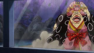 ワンピースアニメ 991話 ワノ国編 | 四皇・ビッグマム おリン | ONE PIECE  Charlotte Linlin