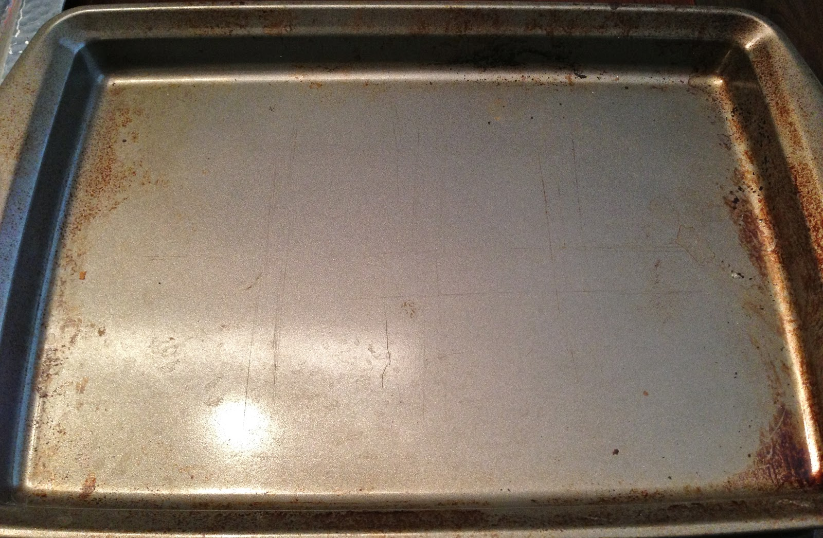 Eclectified Living How To Clean A Dirty Baking Sheet