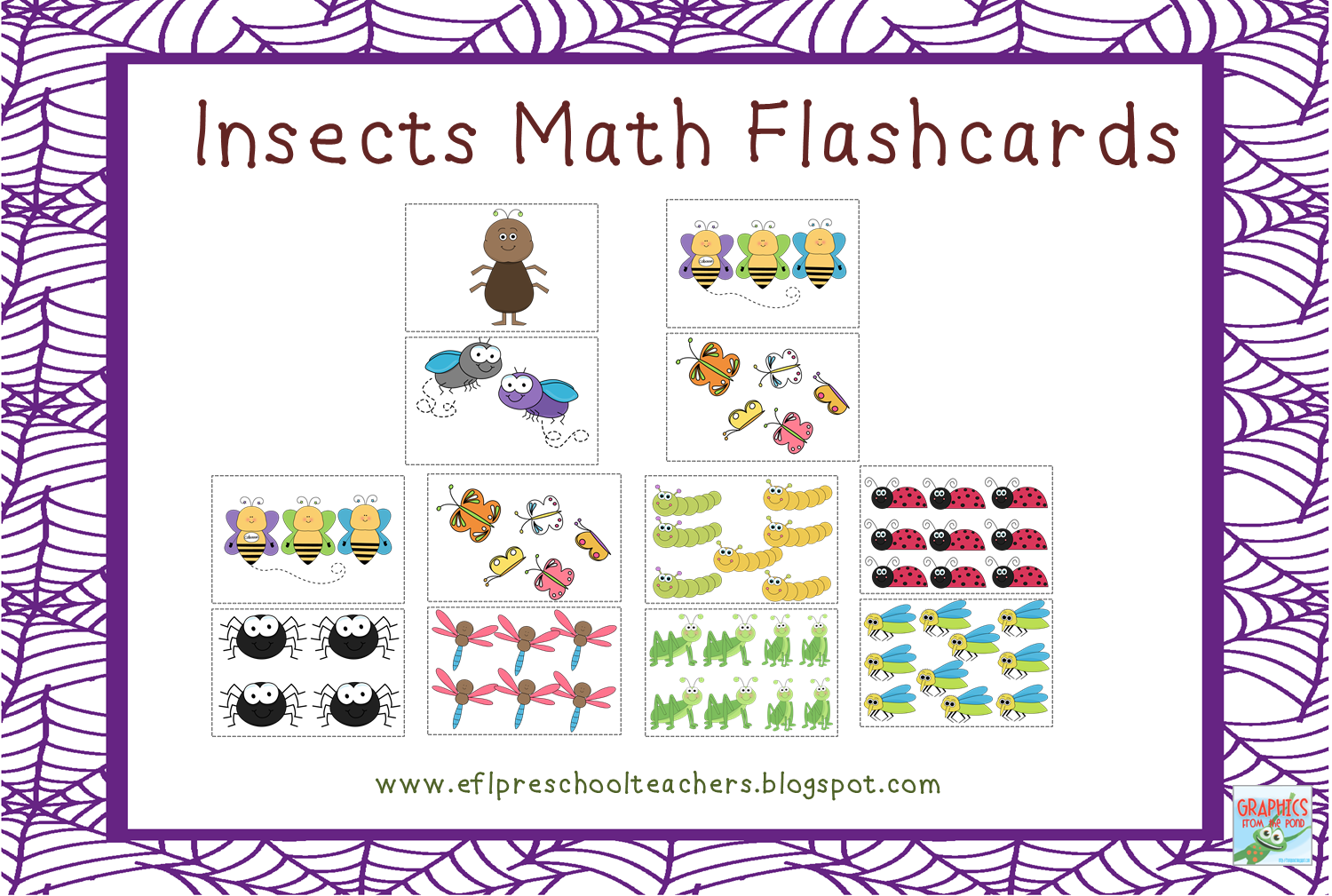 Esl Efl Preschool Teachers Insects