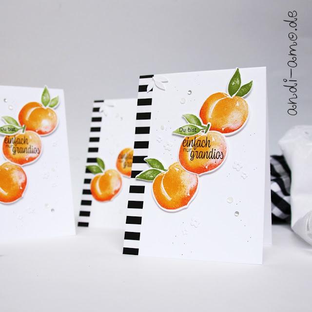 Karte Stampin Up Süße Pfirsiche