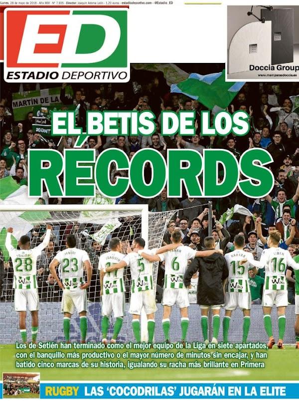 """Betis, Estadio Deportivo: """"El Betis de los récords"""""""