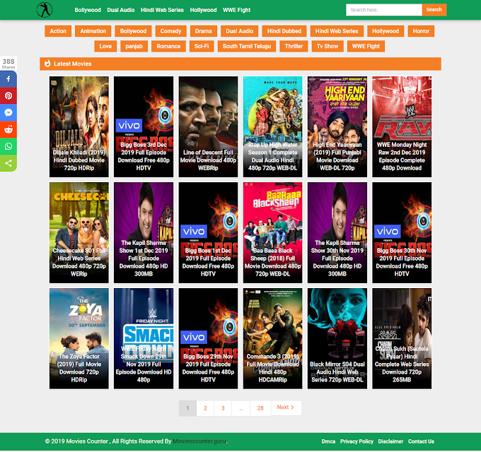 Moviescounter 2019 - Download Bollywood And Hollywood Movies