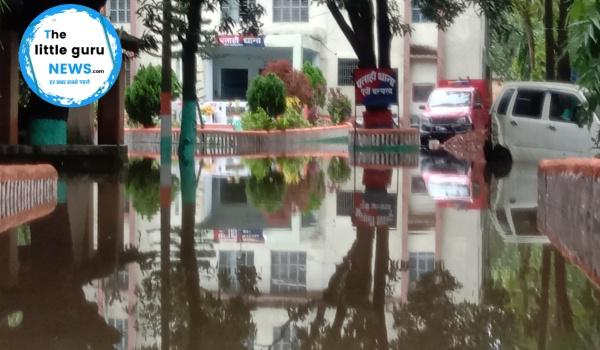 पताही: जब थाना की मेहरबानी से बारिश का पानी दुकानदारों के लिए बन जाता है आफ़त
