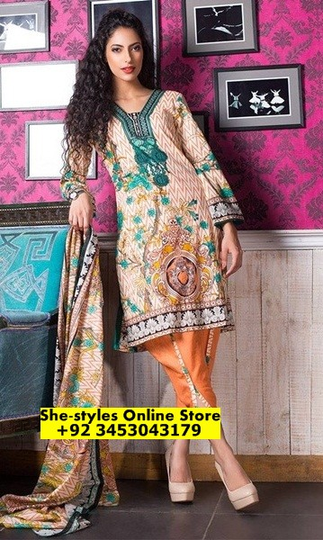 dcc23333a6 It cloud be an amazing collection to start your summer days. Sahil Printed  Lawn 2017 designs giving a feeling of comfort and relaxation when the  weather is ...