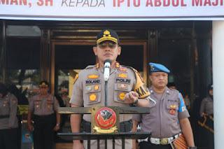 Kapolres  Cirebon Kota Menjadi Irup Dalam Upacara Peringatan Hari Sumpah Pemuda Ke 91 Tahun 2019