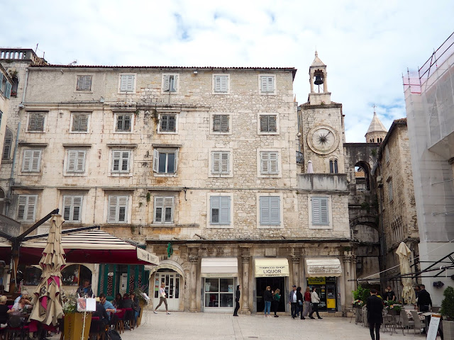 Pjaca, People's Square and Iron Gate to Diocletian's Palace, Split, Croatia