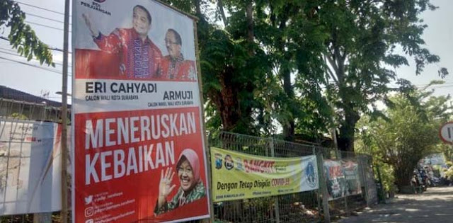 Gugatan Machfud Arifin-Mujiaman Kandas, Gambar Risma Boleh Jadi Bahan Kampanye