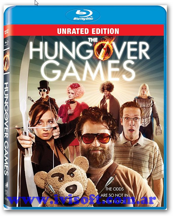 Portada The Hungover Games