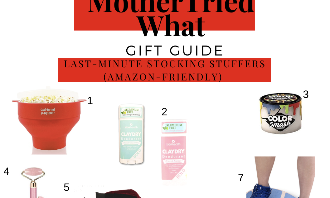 Gift Guide: Last Minute Stocking Stuffers