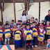 Los niños caucanos reciben kits escolares gracias a la gestión de la Gestora Social, Deysi Caracas.