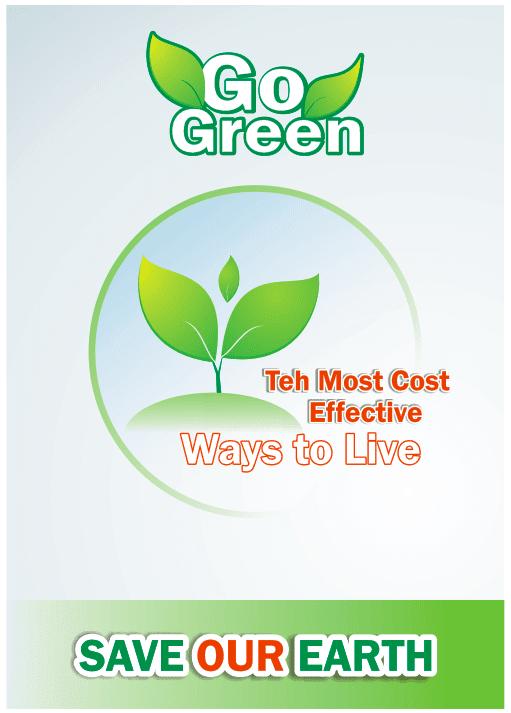 Tutorial Belajar Photoshop Membuat Desain Poster Go Green