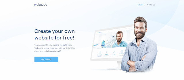 Webnode: a Platform to create a free blog or make a free Web page websites