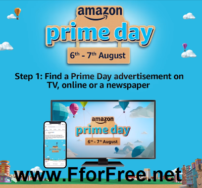 Amazon Prime Day Ad Hunt Contest Win 10 Gift Vouchers Free Stuff Contests Deals Giveaways Free Samples India