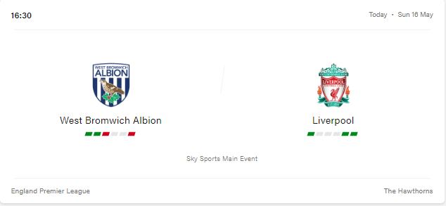 West Bromwich Albion vs Liverpool Preview and Prediction 2021