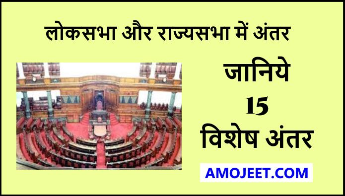 Difference-between-loksabha-and-rajyasabha
