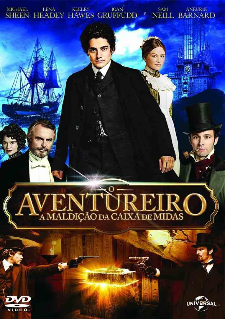 O Aventureiro: A Maldição da Caixa de Midas Torrent – BluRay 720p e 1080p Dual Áudio (2014)