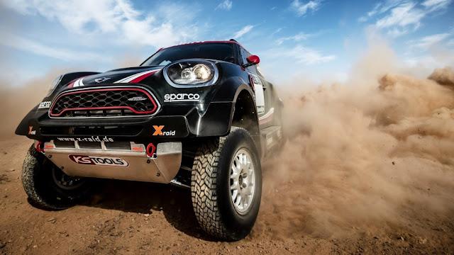 Mini John Cooper Works Rally - La apariencia es imponente