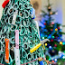 Vilnius Airport creates A Christmas Tree Made Of knives and other confiscated items  To Highlight The Importance Of Aviation Security