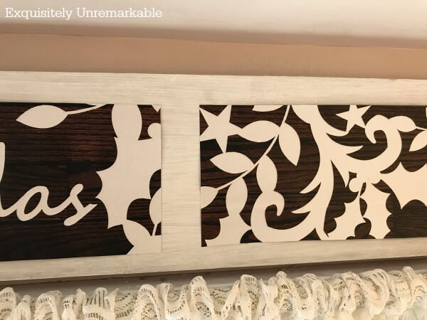 How To Make A Wooden Sign From A Gift Bag