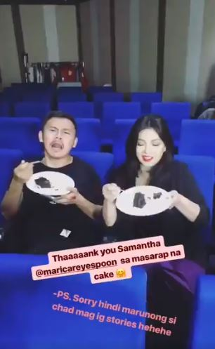 Maricar Reyes-Poon Sends Angel Locsin Sweet Treats!