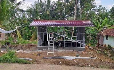 Bangun Rumah Seperti Ini Cuma Habis 15 Juta, Cocok Buat Yang Modalnya Minim