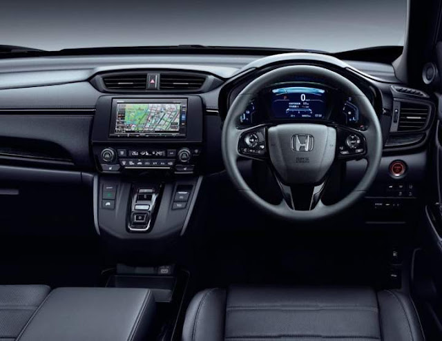 Head Unit Honda CRV Black Edition 2020
