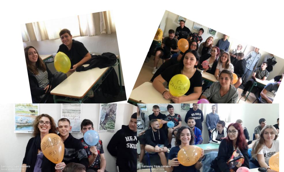 ΕΠΑΛ Νικήτης εκδήλωση με αφορμή τον εορτασμό των Erasmus day 2019. (ΦΏΤΟ)