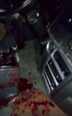 PHOTOS: Armed robbers reportedly kill two passengers along Benin-Ore road