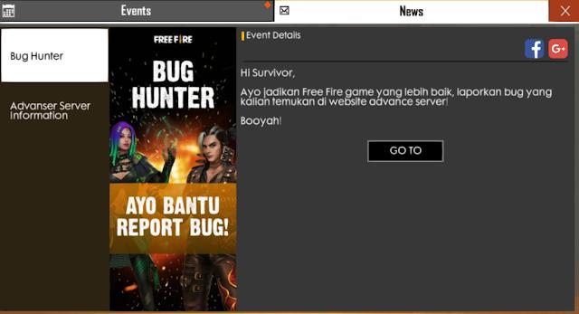 Update Bahas Lengkap Free Fire Advance Server Free Indonesia