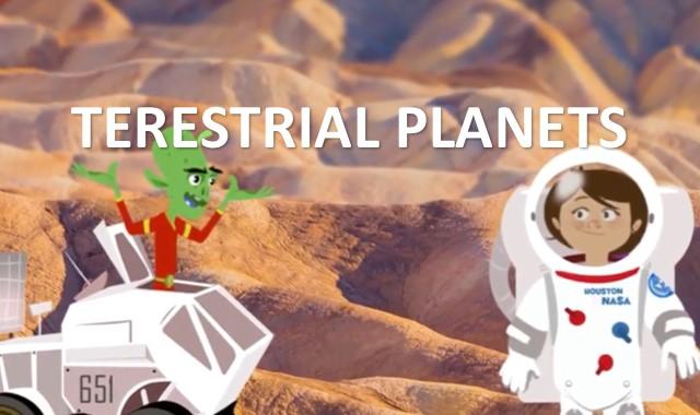 karakteristik dan ciri planet terestrial