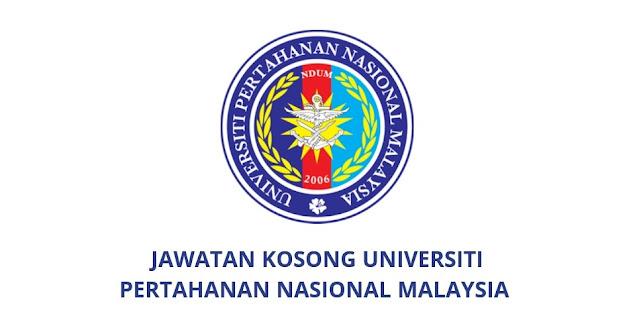 Jawatan Kosong UPNM 2021 (Universiti Pertahanan Nasional Malaysia)