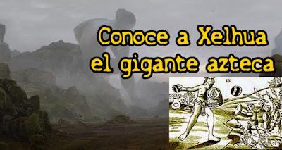 Resultado de imagen de Xelhua: El Gigante que Construyó La Pirámide Mas Grande del Mundo en México
