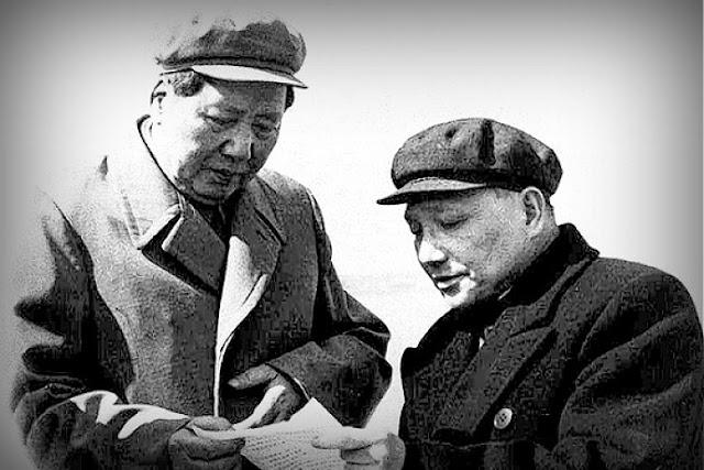 Image Attribute: 中文(简体):1958年,毛泽东、邓小平与王稼祥  / Source: Wikimedia Commons