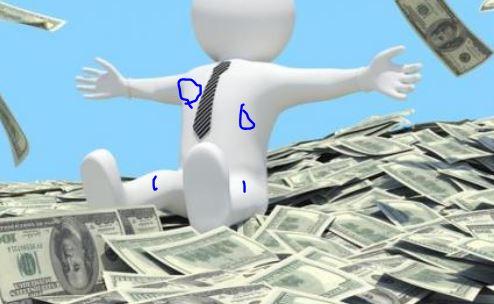 الفرق بينك وبين المتسسسول انه ادرك كيف يصبح غنياً
