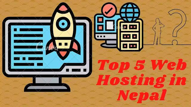 Top 5 Web Hosting in Nepal