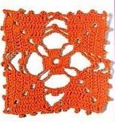Patrón 937 Granny a Crochet