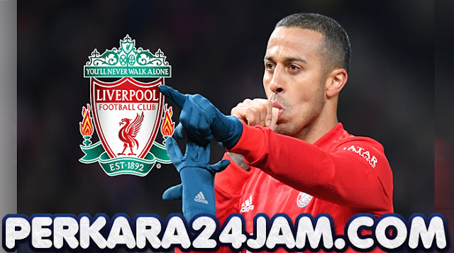 Thiago Alcantara Sudah 90 Persen Pindah Ke Liverpool