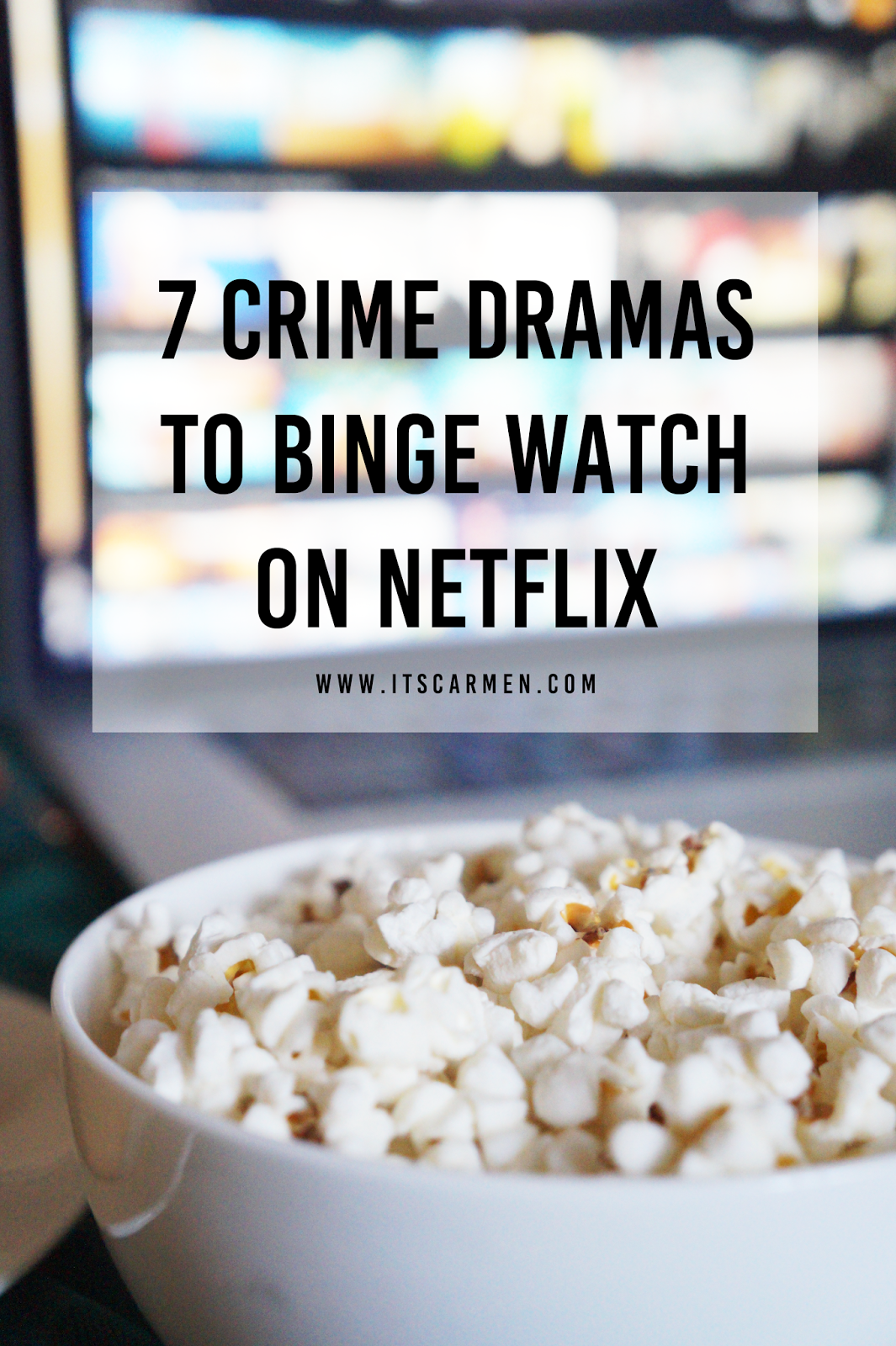 Crime dramas to binge watch on Netflix
